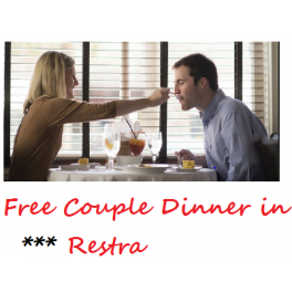 free couple dinner