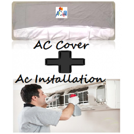 free ac cover and ac installation