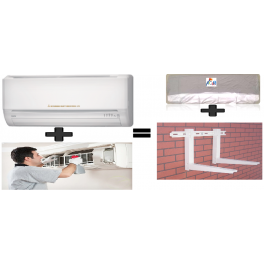 Mitsubishi MSY/MUY-GE15 1.25Tr INV And AC Installation  And Get Free Iron Stand  & Ac Cover