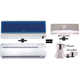 Samsung AR12HC5ECLZ  Plus Daikin FTYN50JXV1 H&C Split AC And Get Free Mixer Grinder And Ac Cover