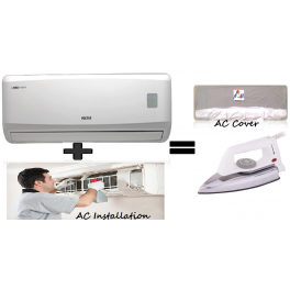 Voltas 183 Dya Split AC  And Ac Installation And Get Free Iron Press and Ac Cover