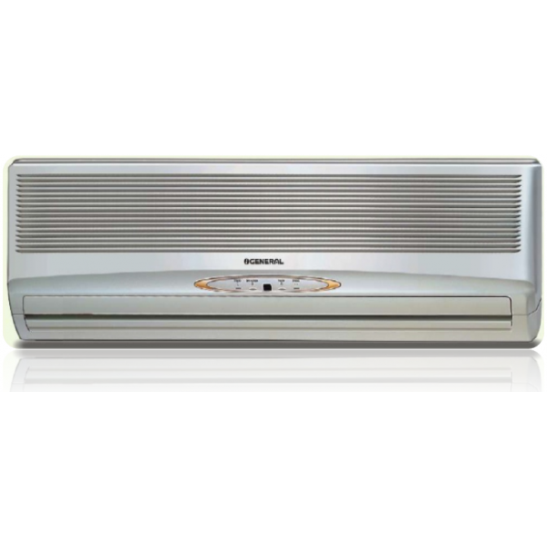 Ogeneral asga18act 1 5 ton 3 star split air conditioner for 1 ton window ac power consumption per hour