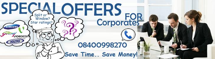 buy air conditioner  bulk dealer ac india ac deals for office corporates