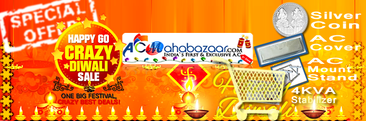 Diwali Sale - Huge Discounts on Hitachi - Lloyd - VIdeocon AC