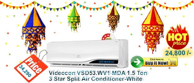 Videocon 3 star AC for 24000 sale at acmahabazaar