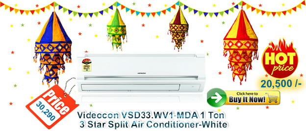 Videocon 1 Ton 3 Star Split Air Conditioner