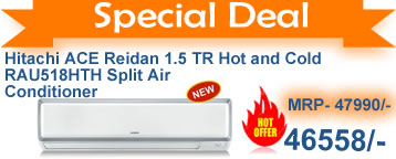 Hitachi ACE Reidan 1.5 TR Hot and Cold - RAU518HTH Split Air Conditioner