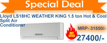 lloyd weather king hot n cool ac in india cheapest online