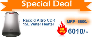 Racold ALtro CDR 15 L Water heater buy online india