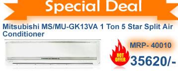 Mitsubishi 1 ton 5 star aplit ac buy online on discounts -acmahabazaar