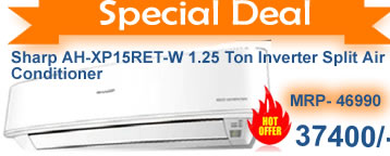 Deal on Sharp Inverter SPlit  Air Conditioner