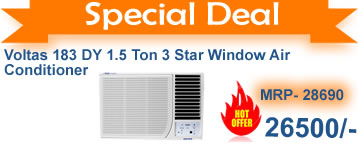 Deep discounts  on voltas WINDOW  Air Conditioner