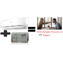 Sharp AH-X18PET-W And 4 KVA Stabilizer And Get free Couple Dinner in 3 Star Restra..